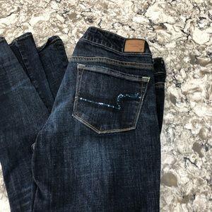 American Eagle Skinny Kick jeans 12L